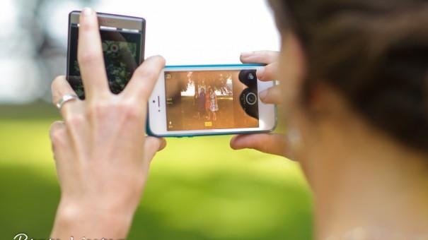 Hochzeitsfotograf-Hegau Handy-Fotos auf Hochzeiten