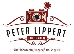Logo Peter Lippert Fotografie, Ihr Hochzeitsfotograf im Hegau